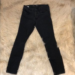 STS blue skinny ankle jeans size 27